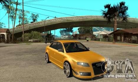 Audi RS4 2006 v2 für GTA San Andreas Rückansicht