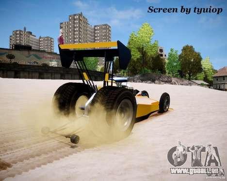 Raketomobil′ für GTA 4 Rückansicht