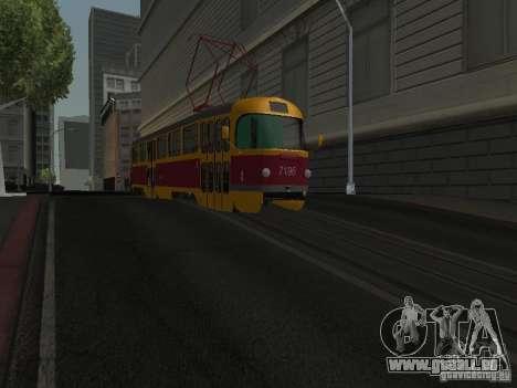 Tatra T3 für GTA San Andreas
