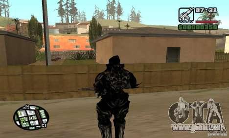Alex Mercer v2 pour GTA San Andreas cinquième écran