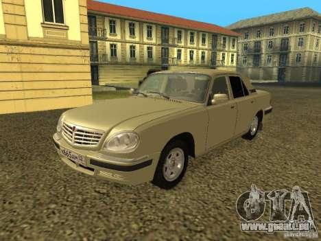 GAZ Volga 31105 restylage pour GTA San Andreas