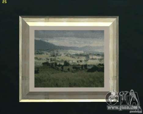 Gemälde im Haus CJ für GTA San Andreas zweiten Screenshot