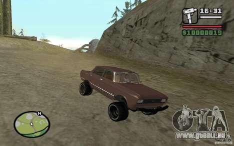 AZLK-2140 4x4 pour GTA San Andreas