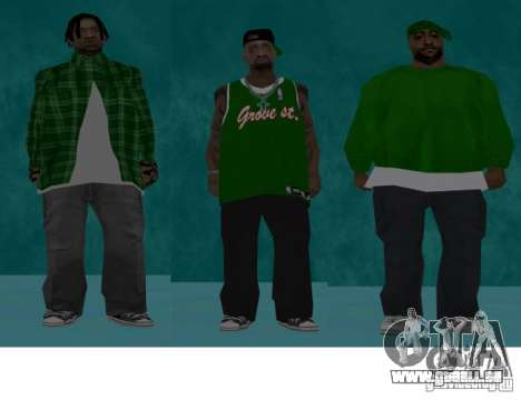 Skins Bands HQ für GTA San Andreas dritten Screenshot