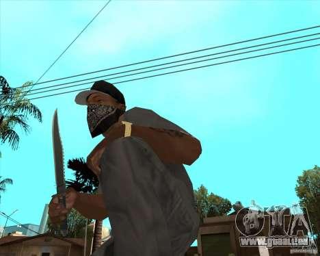 Rambo HD pour GTA San Andreas deuxième écran