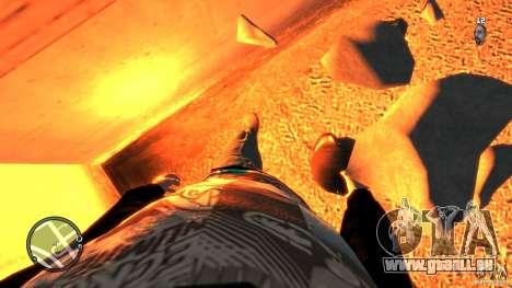 Granate teste mozzate pour GTA 4 troisième écran