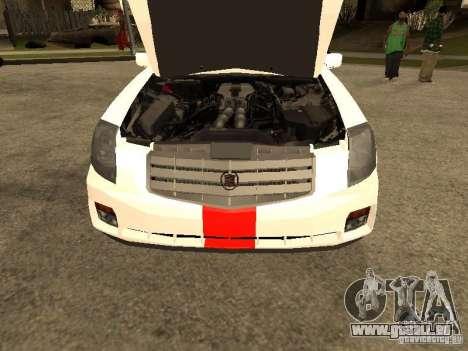 Cadillac CTS 2003 Tunable pour GTA San Andreas vue de droite