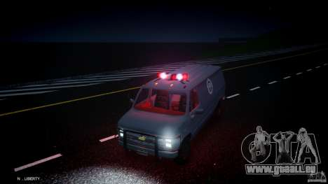 Chevrolet G20 Van V1.1 pour GTA 4 vue de dessus