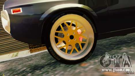 Mazda RX-4 für GTA 4 Rückansicht
