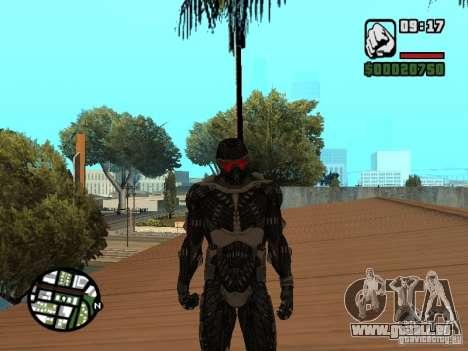 Crysis Nano Suit pour GTA San Andreas