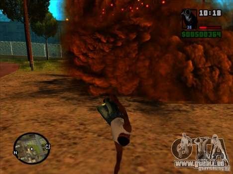 Müll von der explosion für GTA San Andreas sechsten Screenshot