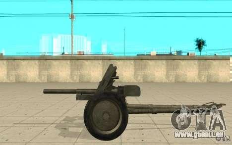 Regiment Waffe, 53-45 mm für GTA San Andreas linke Ansicht