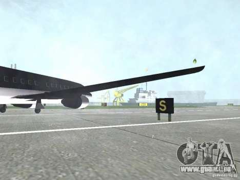 AT-400 auf allen Flughäfen für GTA San Andreas her Screenshot