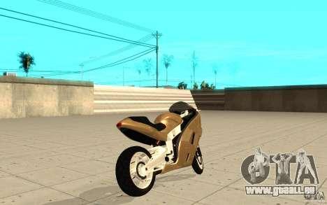 GTAIV TLAD Hakuchou Custom Version pour GTA San Andreas sur la vue arrière gauche