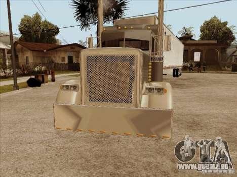 Peterbilt 379 Custom pour GTA San Andreas laissé vue