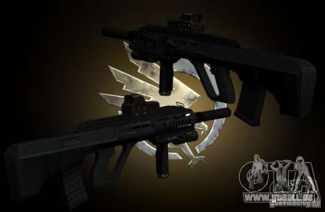 AUG-A3 Special Ops Style pour GTA San Andreas