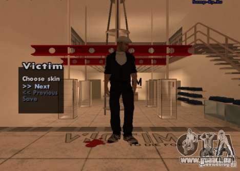 Nouvelle mafia russe peau # 1 pour GTA San Andreas deuxième écran