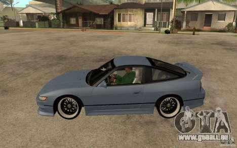 Nissan Silvia80 - EMzone Edition für GTA San Andreas linke Ansicht