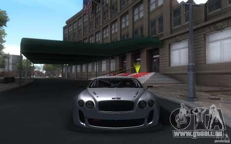 Bentley Continental Super Sport Tuning für GTA San Andreas linke Ansicht