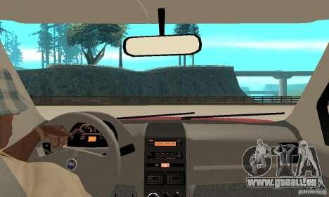 Fiat Siena HLX 1.8 Flex pour GTA San Andreas vue de droite