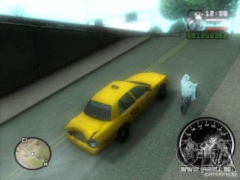 Pluie verglaçante pour GTA San Andreas troisième écran