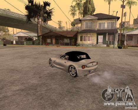 BMW Z4 pour GTA San Andreas vue de côté