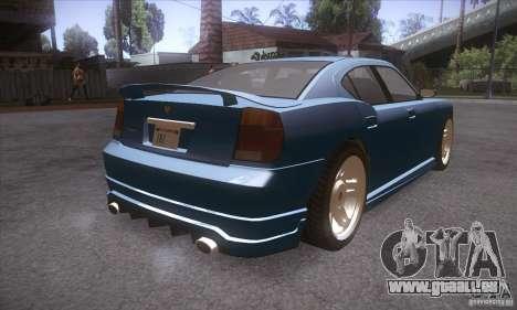 GTA IV Buffalo für GTA San Andreas rechten Ansicht