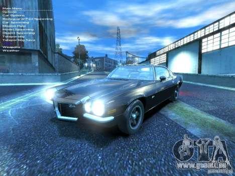 Chevrolet Camaro Z28 pour GTA 4