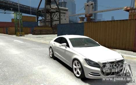 Mercedes-Benz CLS 350 pour GTA 4 Vue arrière