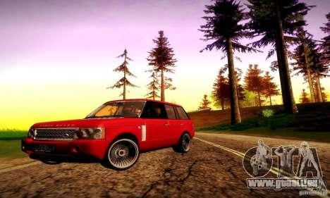 Range Rover Supercharged für GTA San Andreas Räder