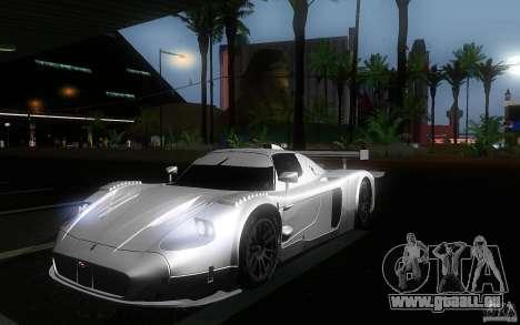 Maserati MC12 GT1 für GTA San Andreas