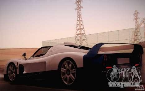 Maserati MC12 V1.0 pour GTA San Andreas laissé vue