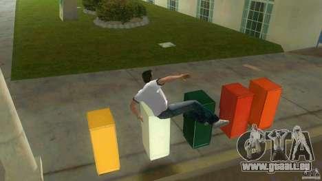 Cleo Parkour for Vice City für GTA Vice City fünften Screenshot