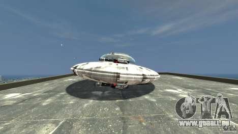 UFO ufo textured pour GTA 4 est une gauche