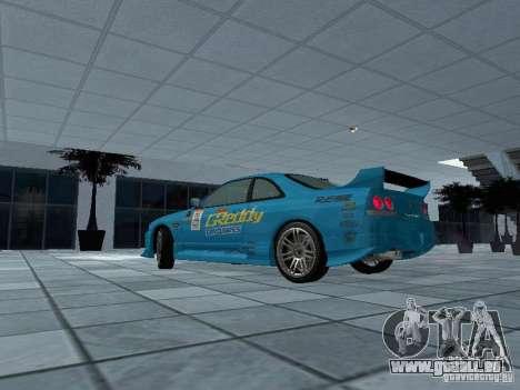 Nissan Skyline R 33 GT-R für GTA San Andreas linke Ansicht
