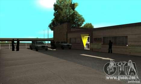 Renouvellement des auto-écoles à San Fierro pour GTA San Andreas troisième écran