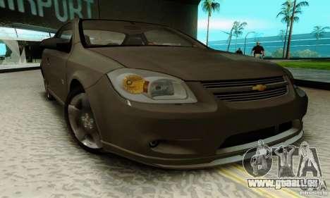 Chevrolet Cobalt SS pour GTA San Andreas vue de droite