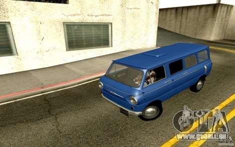 ZAZ 970 für GTA San Andreas Rückansicht