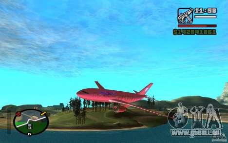Airbus A-310 S7 SanFierroAir für GTA San Andreas