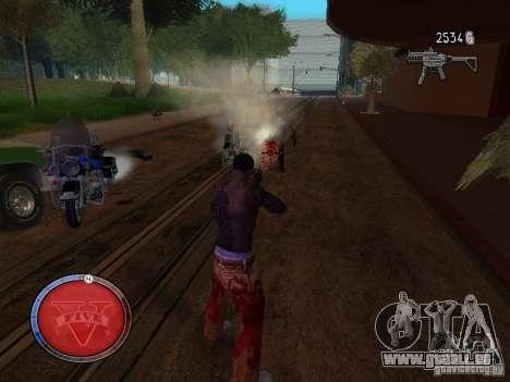 GTA 5 HUD für GTA San Andreas dritten Screenshot