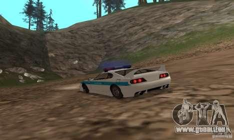 Jester Russian Police pour GTA San Andreas vue de droite