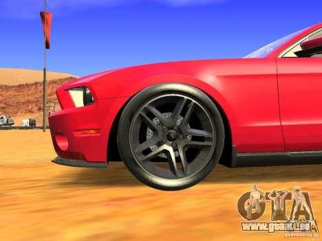 Ford Shelby GT500 für GTA San Andreas rechten Ansicht