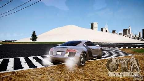 Audi R8 2008 für GTA 4 hinten links Ansicht