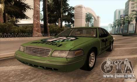 Ford Crown Victoria 2003 pour GTA San Andreas vue arrière