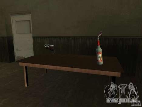 Pak version domestique armes 2 pour GTA San Andreas neuvième écran