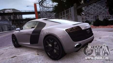 Audi R8 V10 pour GTA 4 Vue arrière