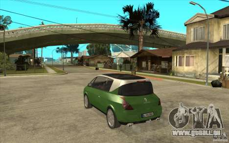 Renault Avantime für GTA San Andreas zurück linke Ansicht