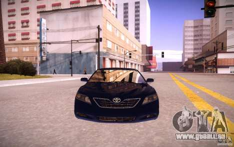 Toyota Camry Light Tunning pour GTA San Andreas vue intérieure