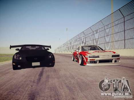 Nissan Silvia S13 Daijiro Yoshihara für GTA San Andreas Seitenansicht