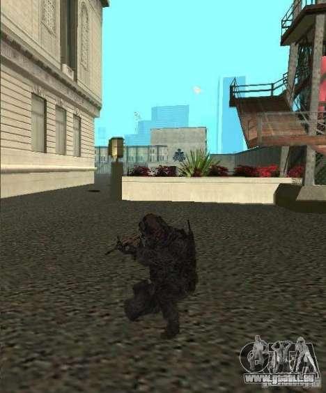 USA Army Ranger pour GTA San Andreas deuxième écran